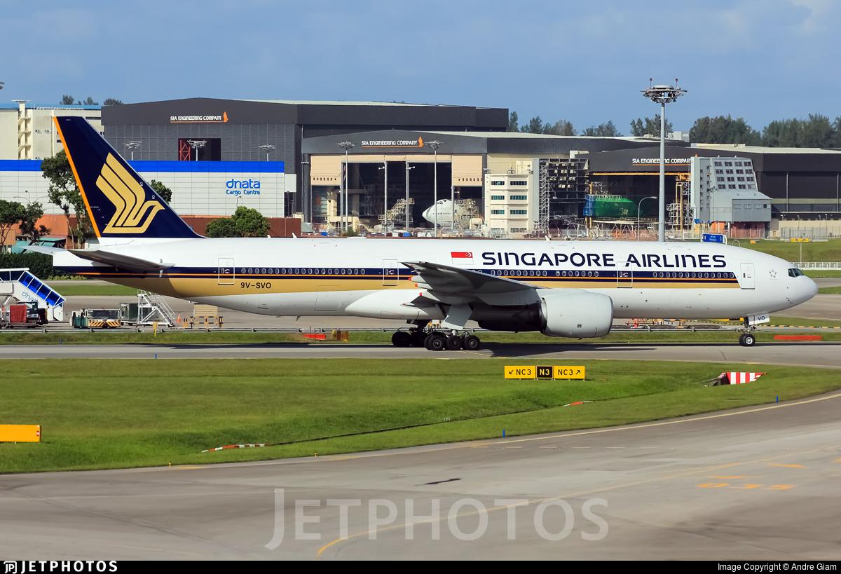 9V-SVO - Boeing 777-212(ER) - Singapore Airlines