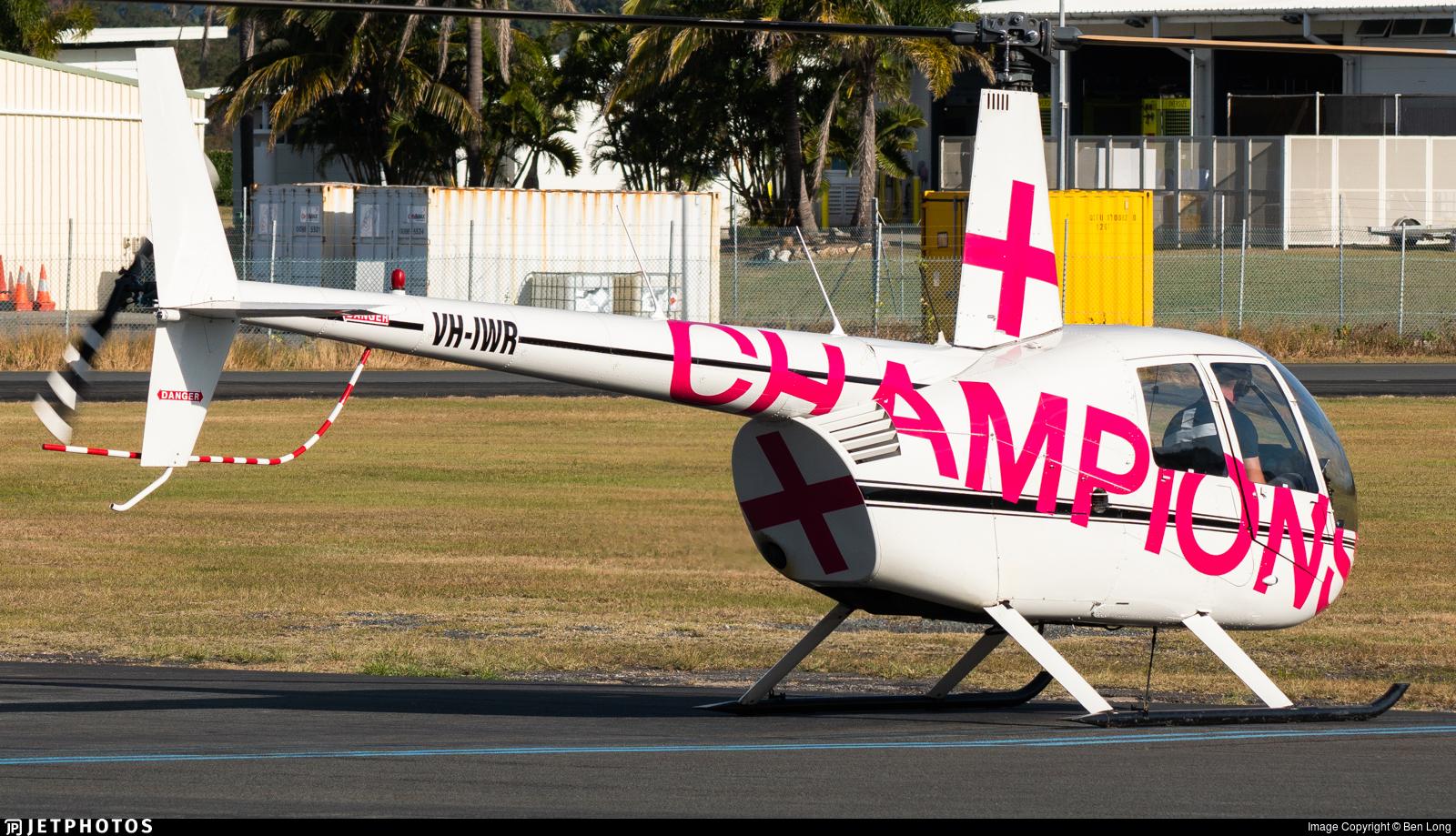 VH-IWR - Robinson R44 Astro - Private