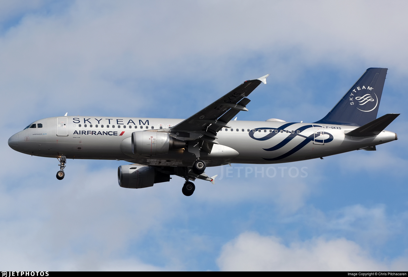 F-GKXS - Airbus A320-214 - Air France