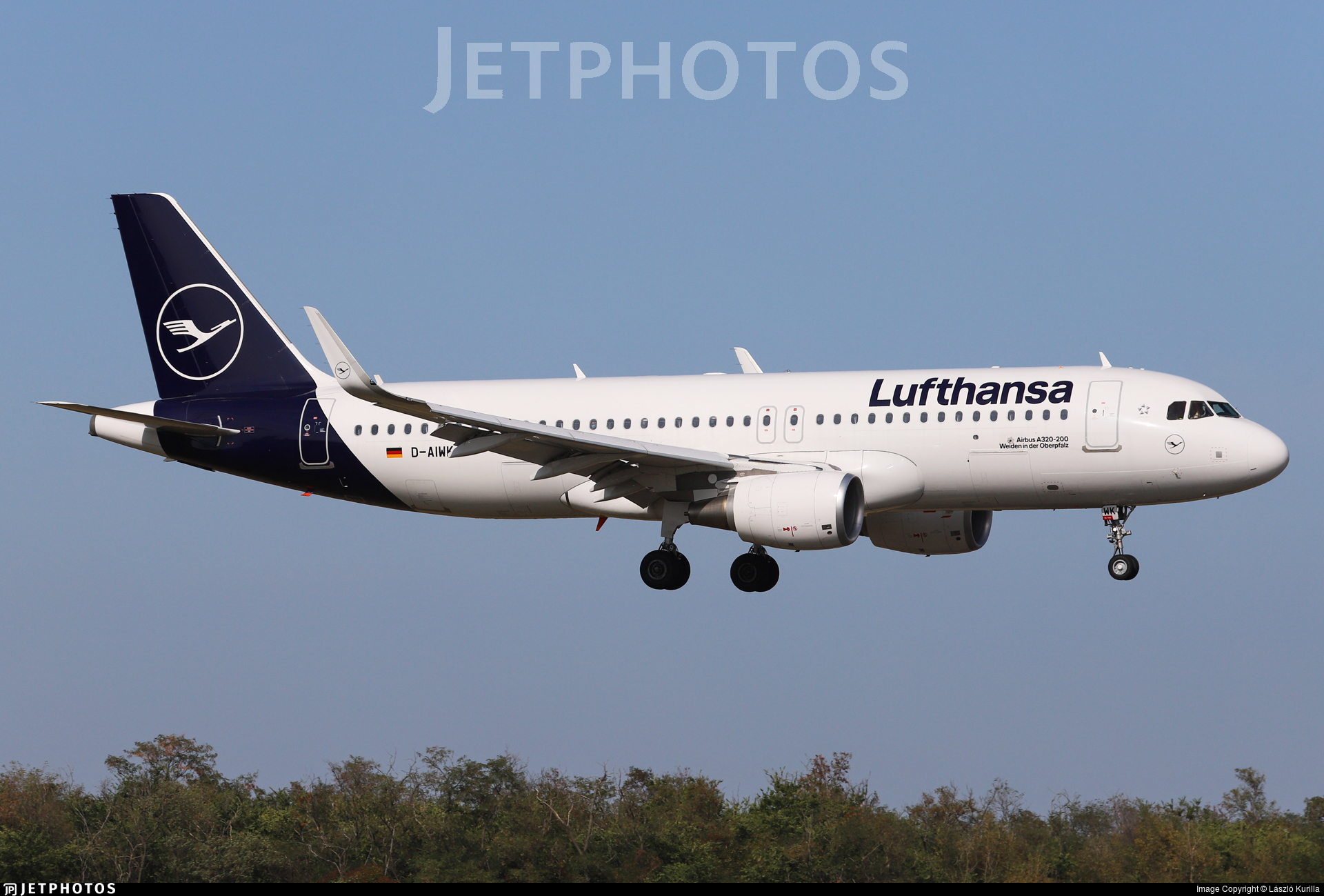 D-AIWK - Airbus A320-214 - Lufthansa