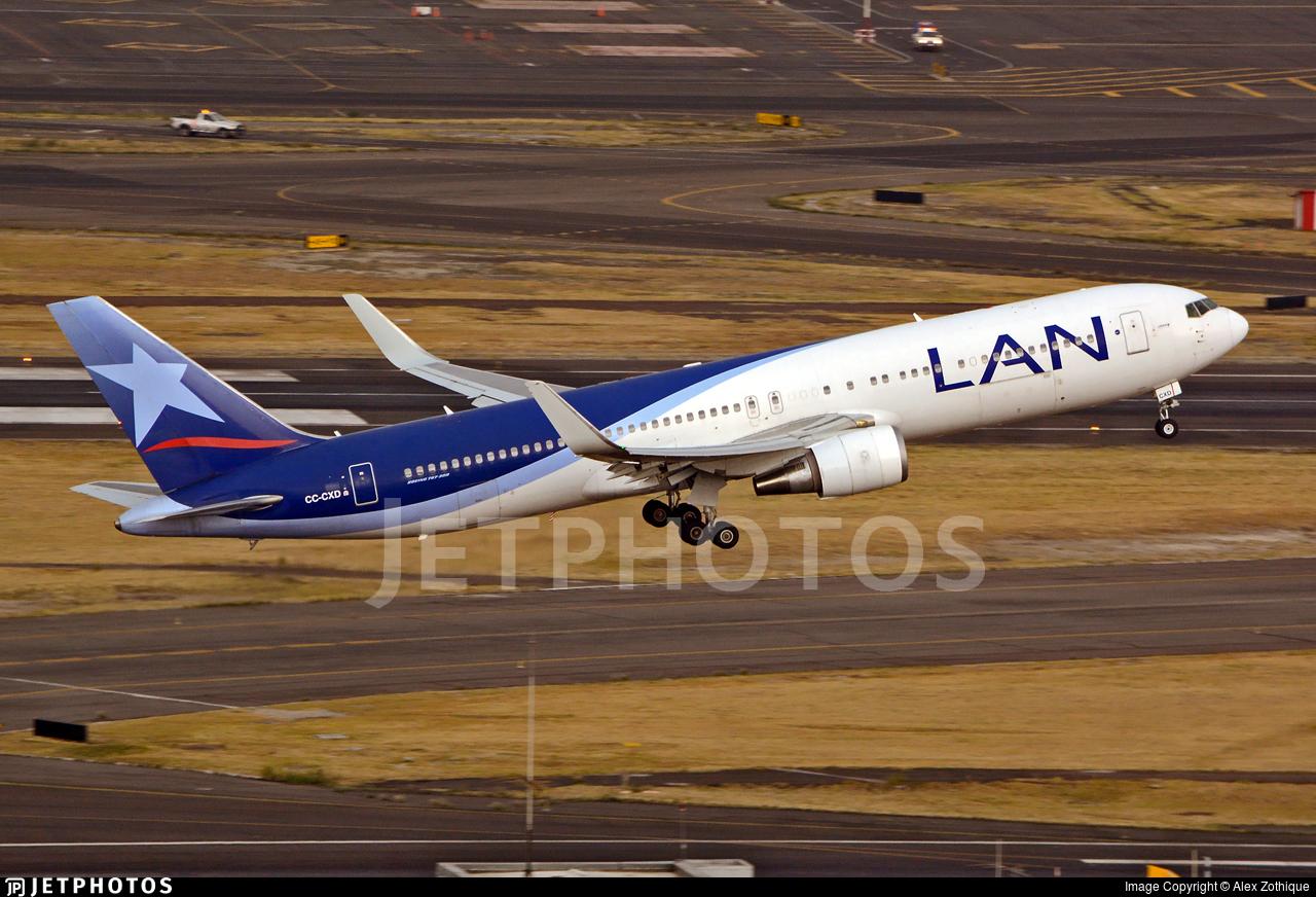 CC-CXD - Boeing 767-316(ER) - LAN Airlines