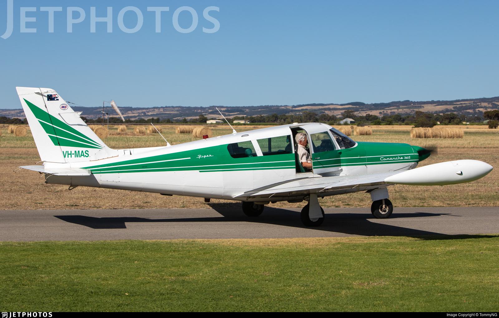 VH-MAS - Piper PA-24-260 Comanche B - Private