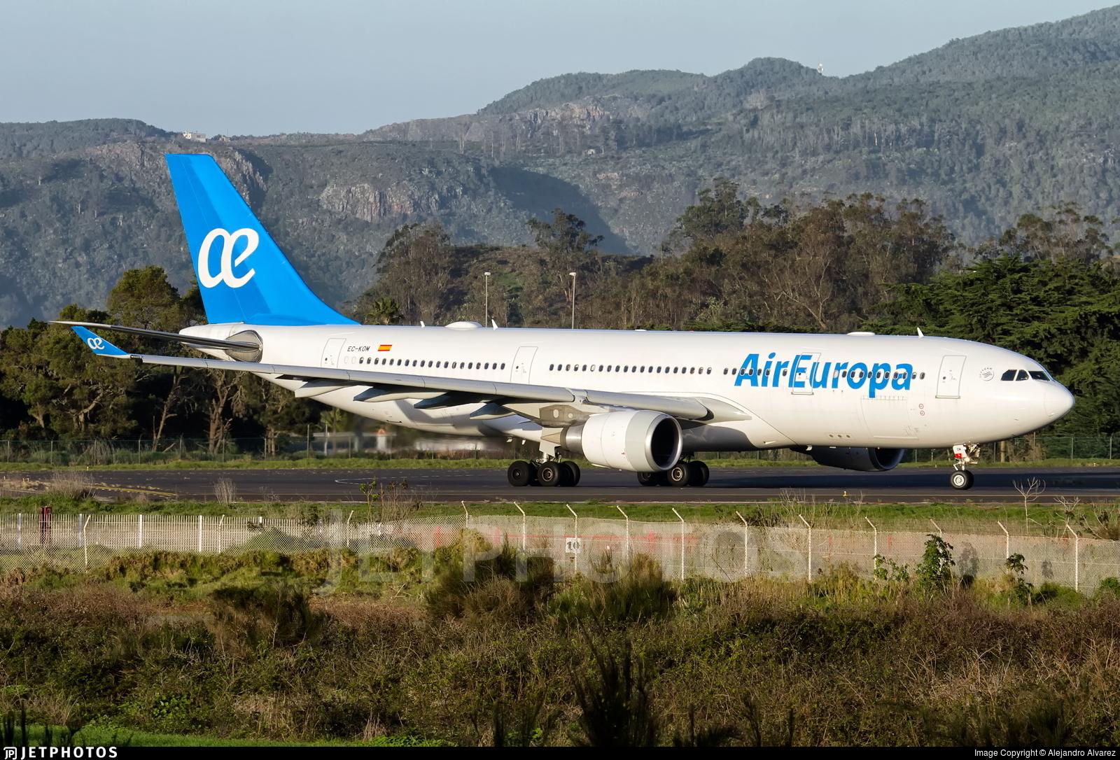 EC-KOM - Airbus A330-202 - Air Europa
