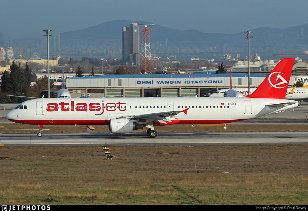 TC-ATZ - Airbus A321-211 - AtlasJet