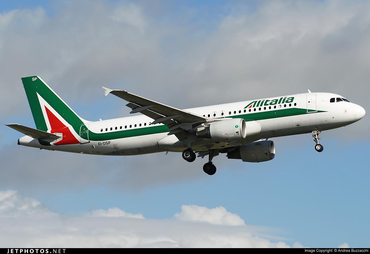 EI-DSP - Airbus A320-216 - Alitalia