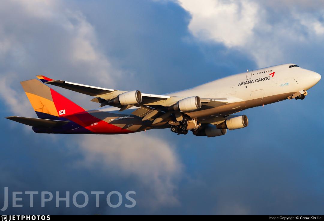 HL7415 - Boeing 747-48E(BDSF) - Asiana Cargo