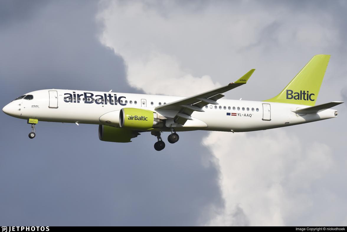 YL-AAQ - Airbus A220-371 - Air Baltic