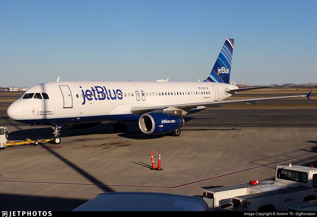 N807JB - Airbus A320-232 - jetBlue Airways