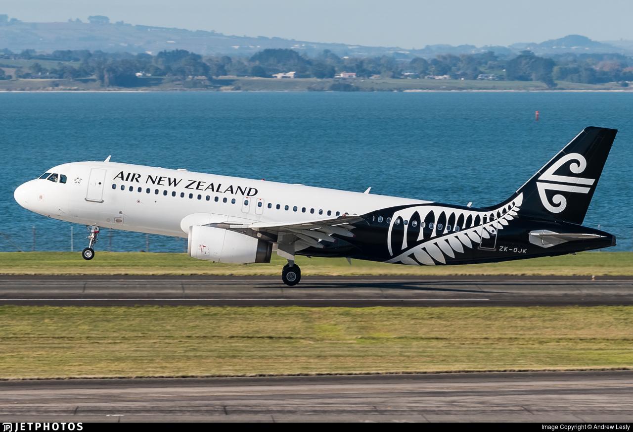 ZK-OJK - Airbus A320-232 - Air New Zealand