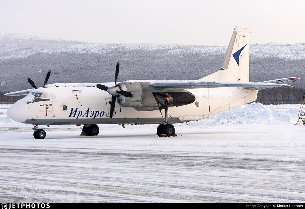 RA-26692 - Antonov An-26B-100 - IrAero