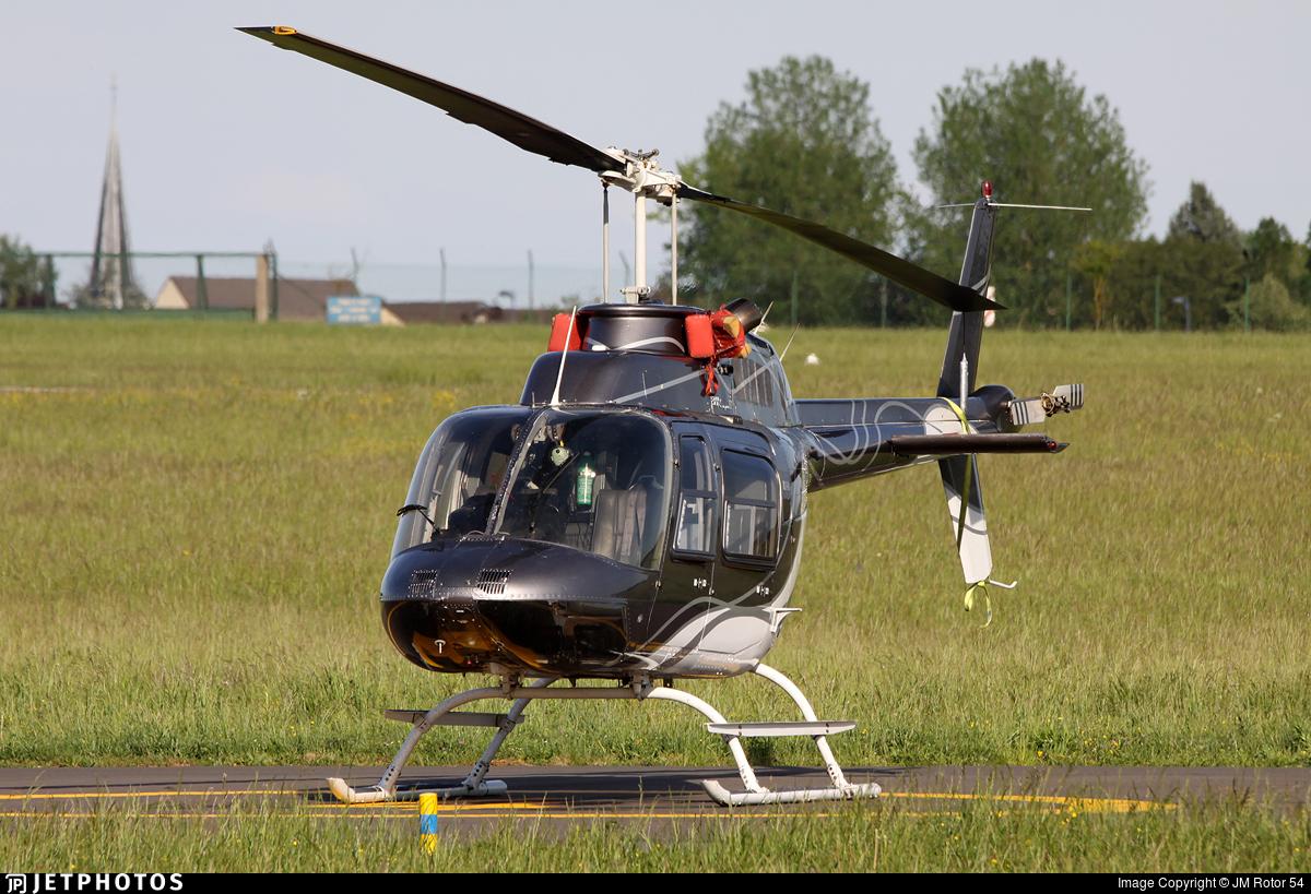 F-GVOB - Bell 206B JetRanger III - Heli-Evénements