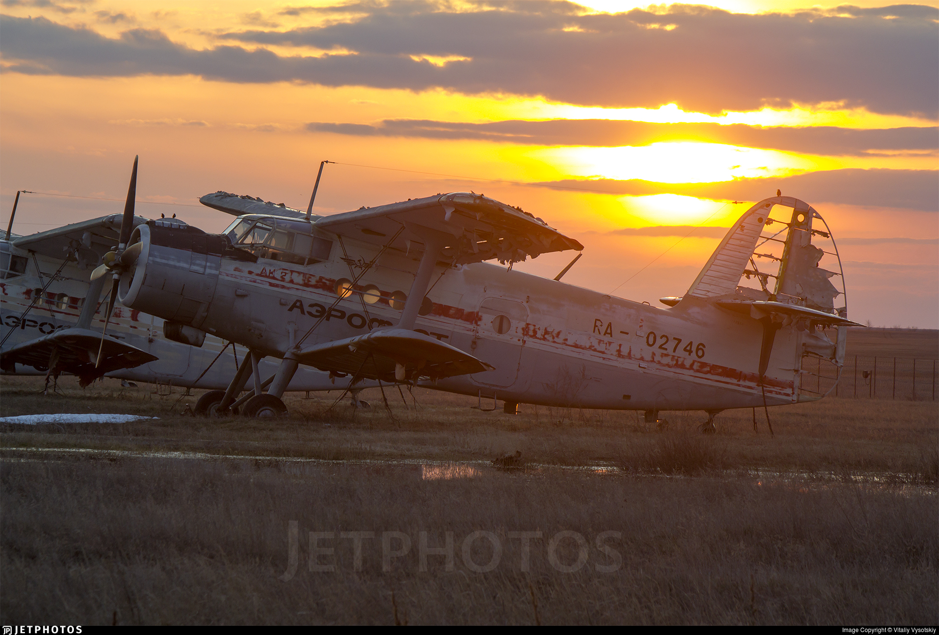 RA-02746 - PZL-Mielec An-2T - UVAUGA - Ulyanovsk Higher Civil Aviation School