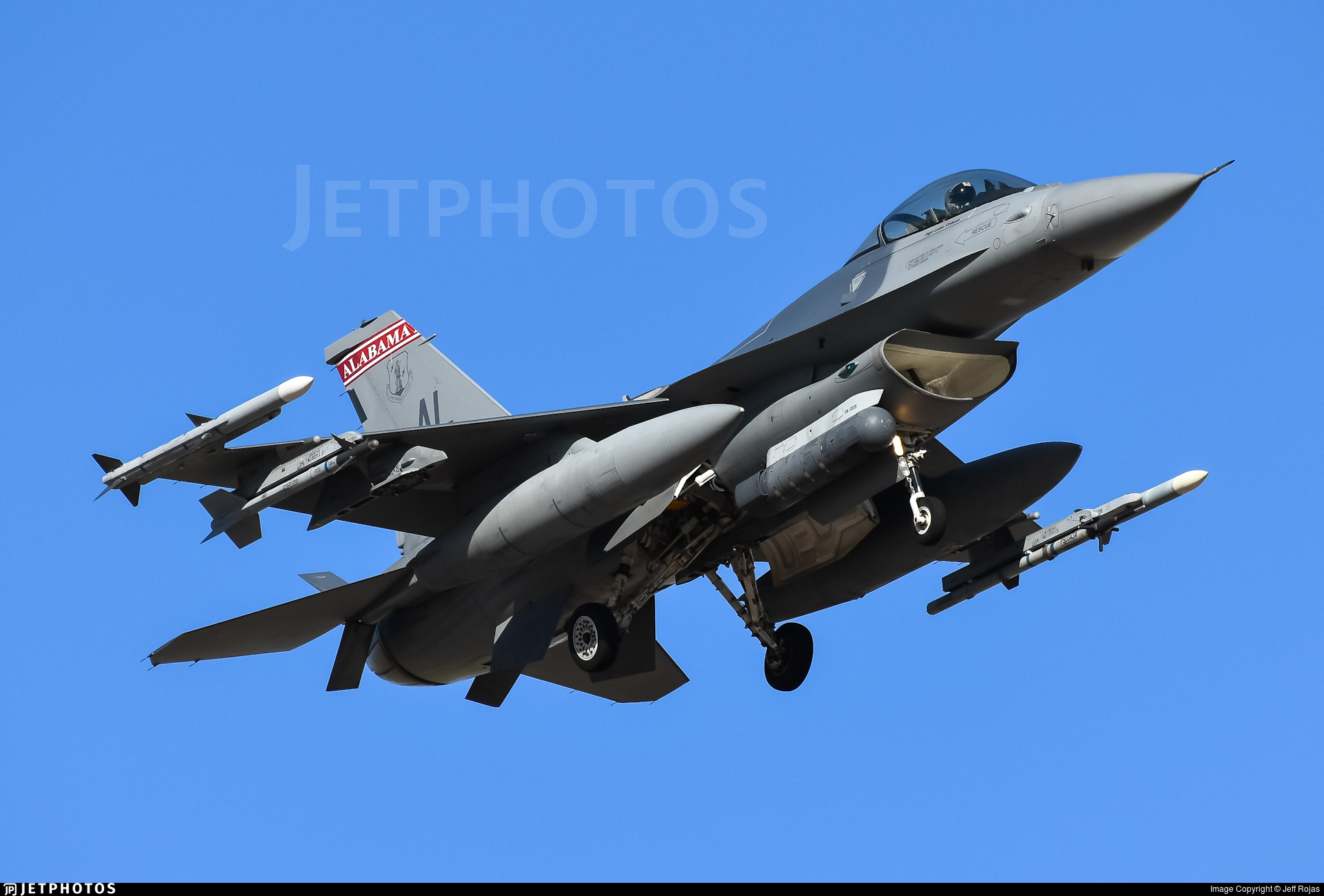 87-0263 - General Dynamics F-16C Fighting Falcon - United States - US Air Force (USAF)