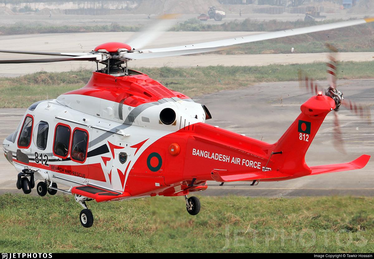 812 - Agusta-Westland AW-139 - Bangladesh - Air Force