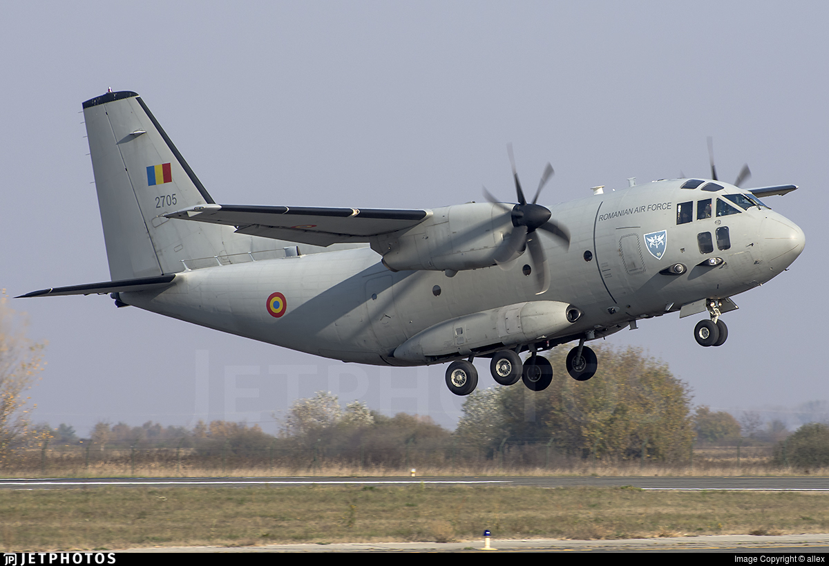 2705 - Alenia C-27J Spartan - Romania - Air Force