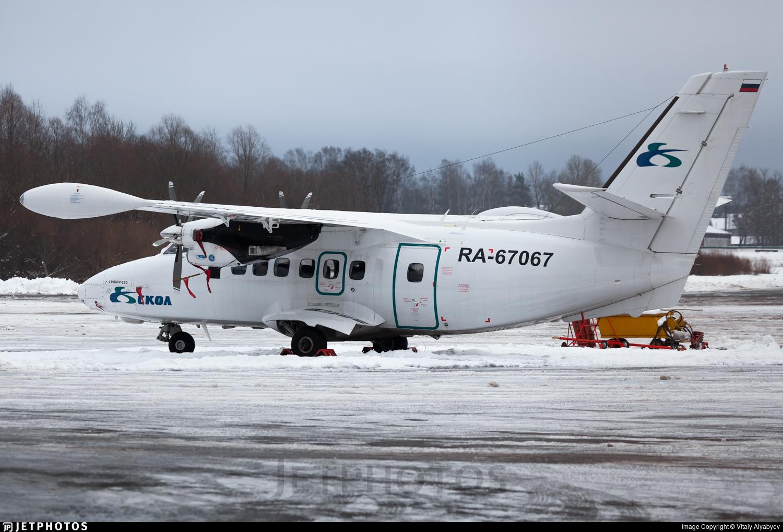 RA-67067 - Let L-410UVP-E20 Turbolet - Aircompany SKOL