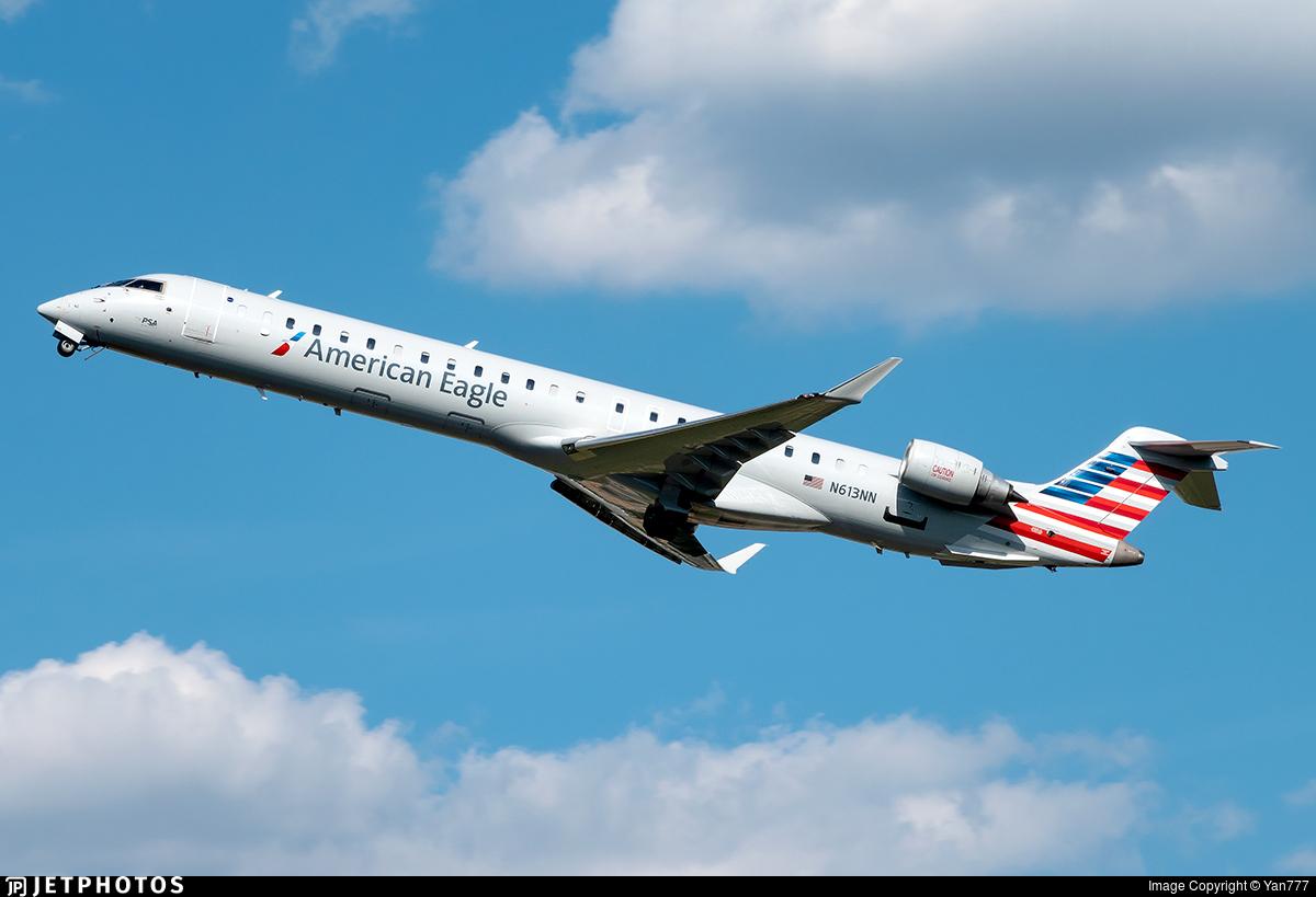 N613NN - Bombardier CRJ-900LR - American Eagle (PSA Airlines)