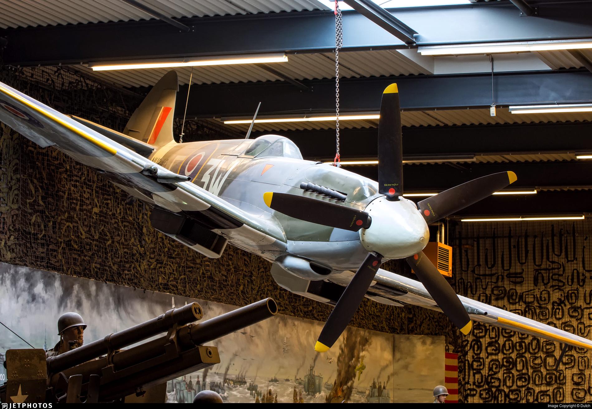 NH649 - Supermarine Spitfire Mk.XIV - Netherlands - Royal Air Force