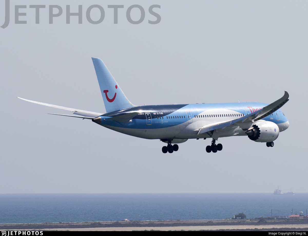 G-TUIB | Boeing 787-8 Dreamliner | Thomson Airways | Siegi N ...