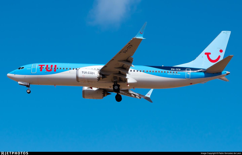 PH-TFP - Boeing 737-8 MAX - TUI