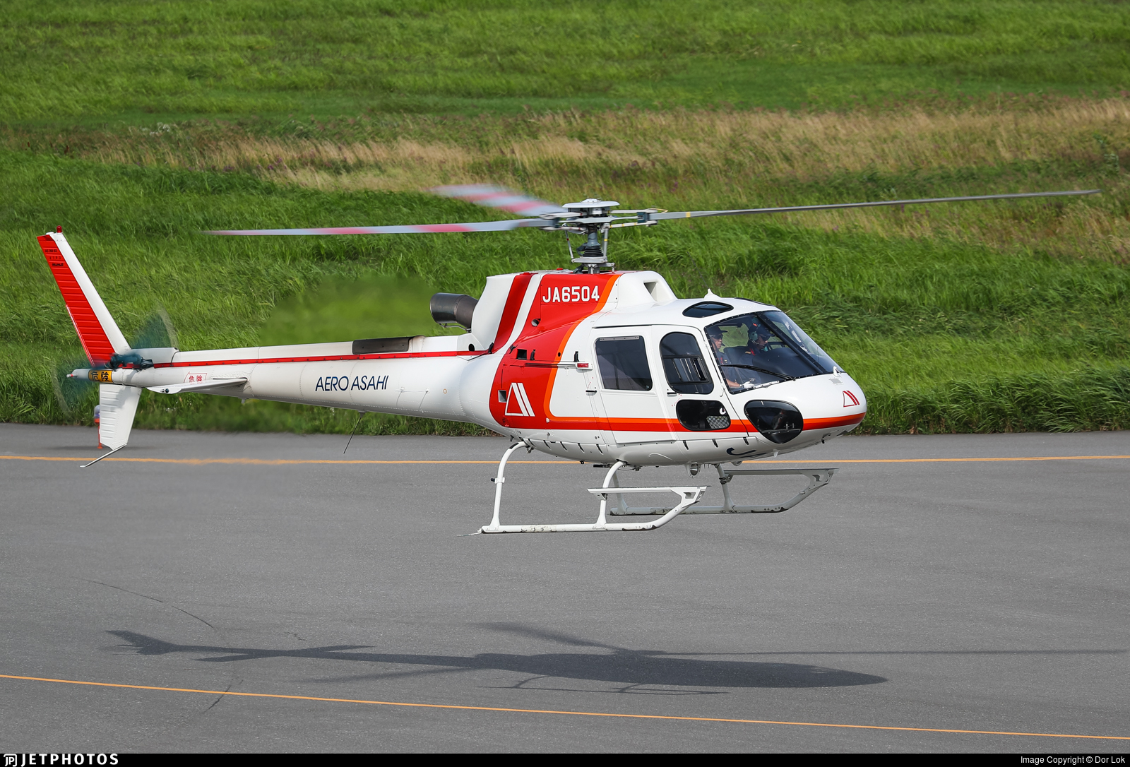 JA6504 - Eurocopter AS 350B3 Ecureuil - Aero Asahi