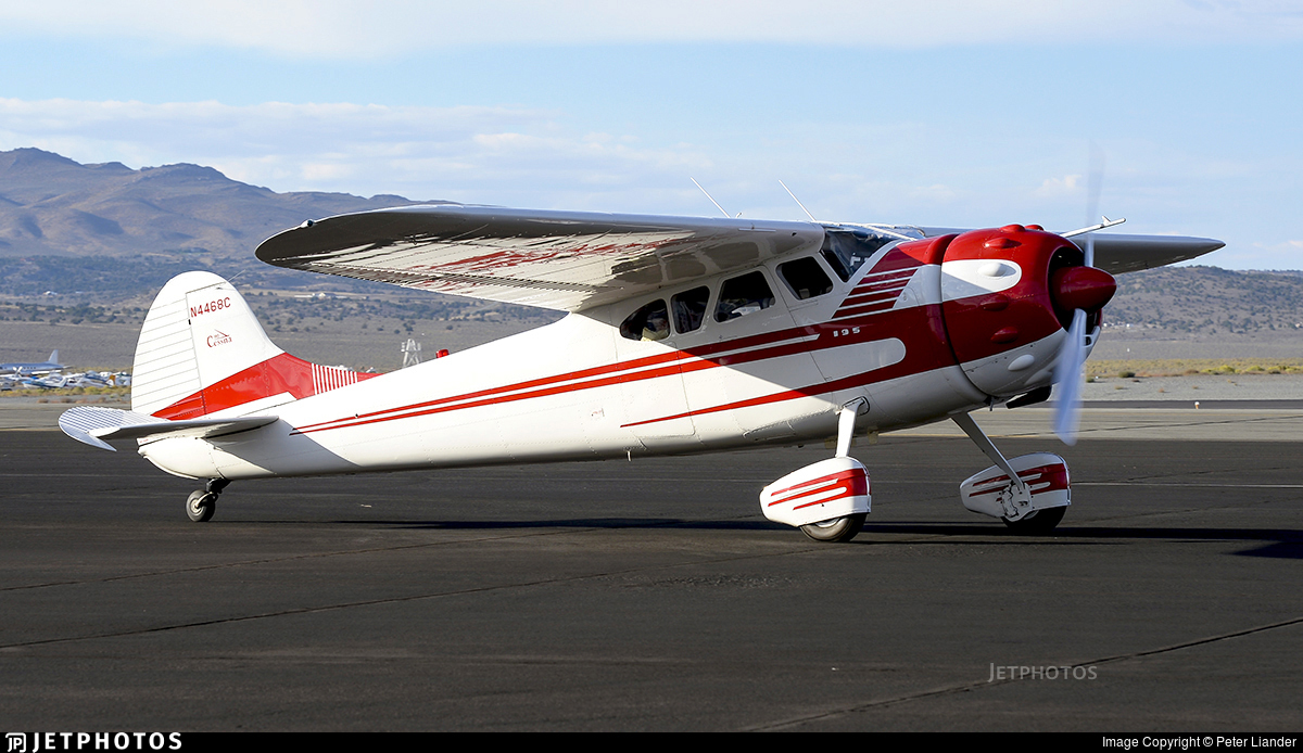 N4468C - Cessna 195 - Private
