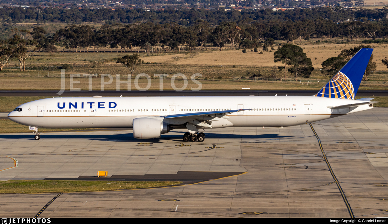 N2645U - Boeing 777-322ER - United Airlines