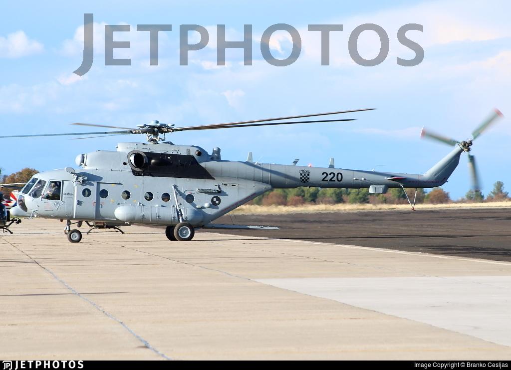 220 - Mil Mi-171Sh Baikal - Croatia - Air Force