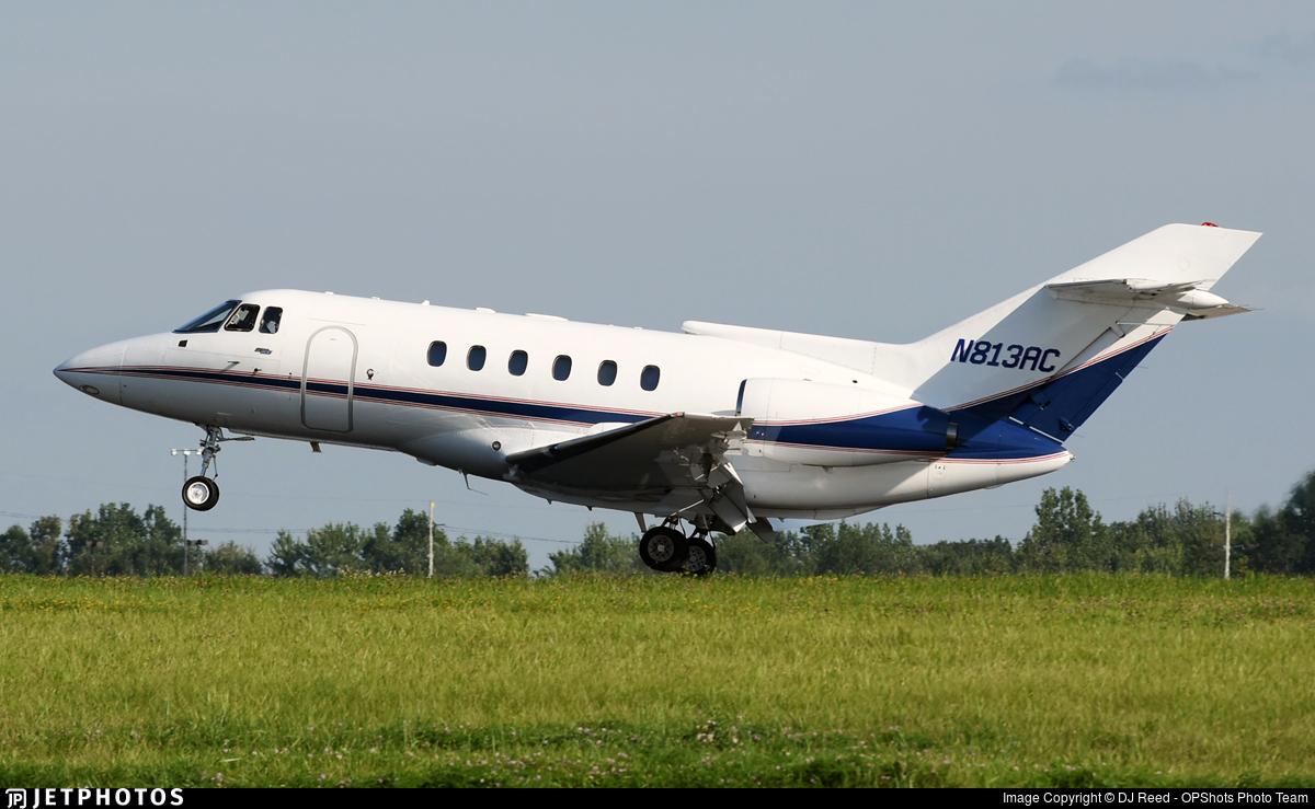 N813AC - British Aerospace BAe 125-800A - Private