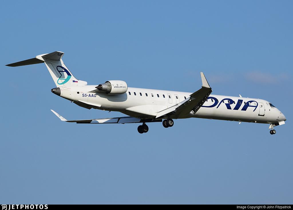S5-AAU - Bombardier CRJ-900LR - Adria Airways