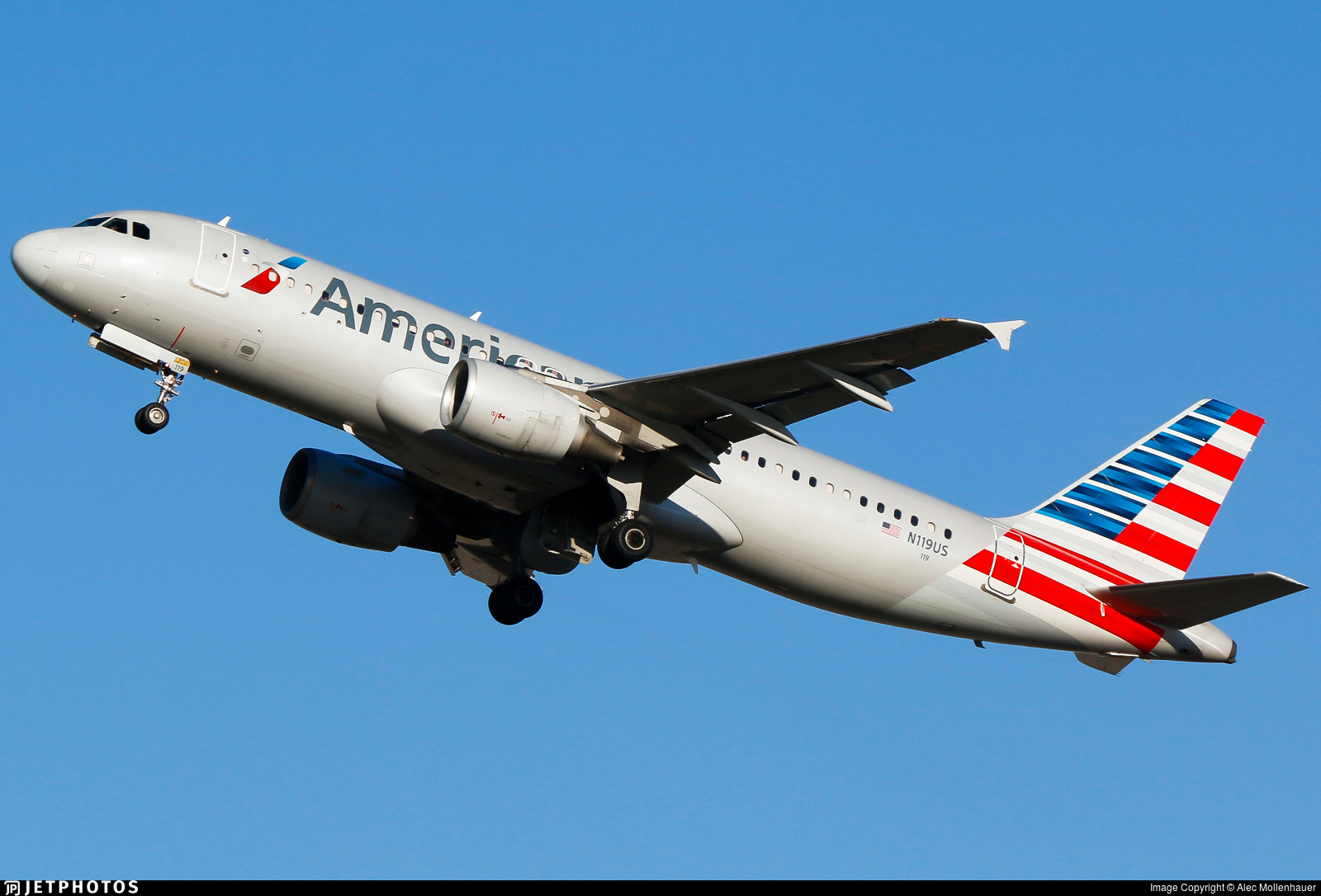 N119US - Airbus A320-214 - American Airlines