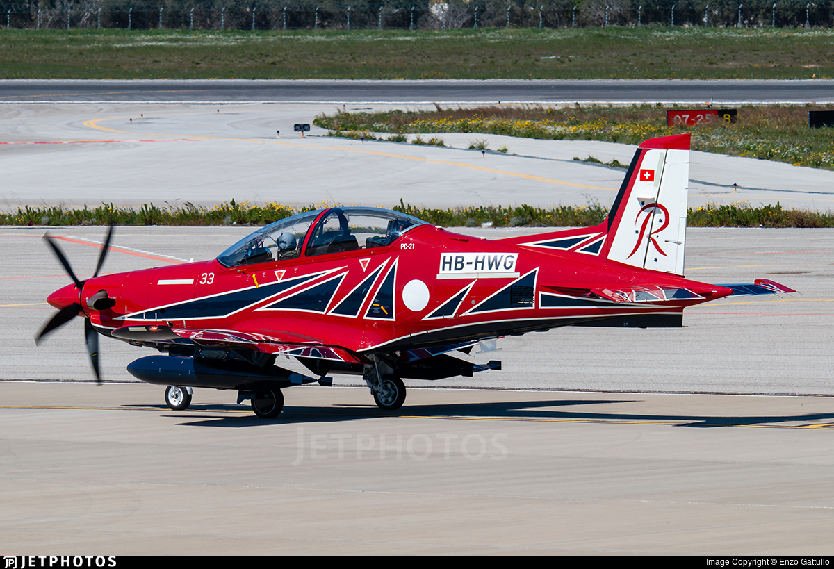 HB-HWG - Pilatus PC-21 - Pilatus Aircraft