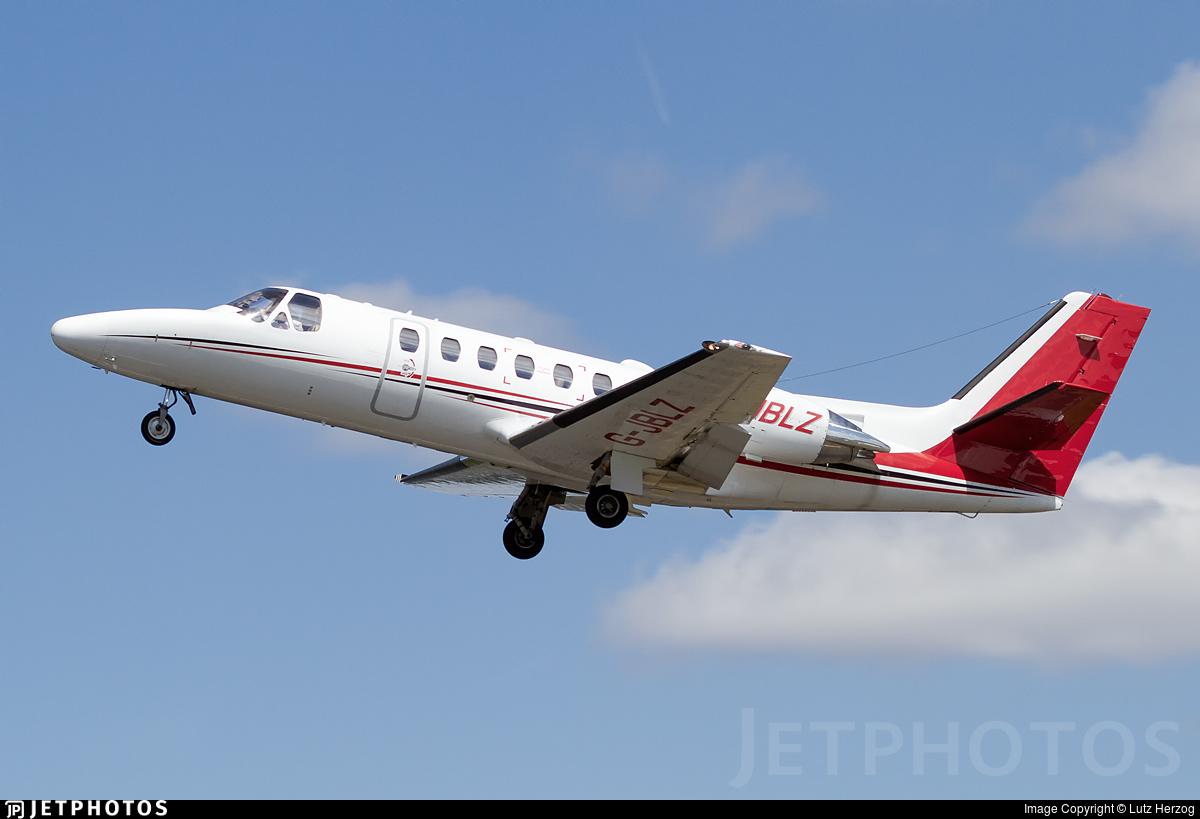 G-JBLZ - Cessna 550B Citation Bravo - Private