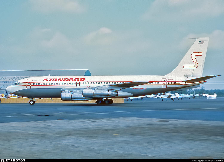 N790SA - Boeing 707-138B - Standard Airways