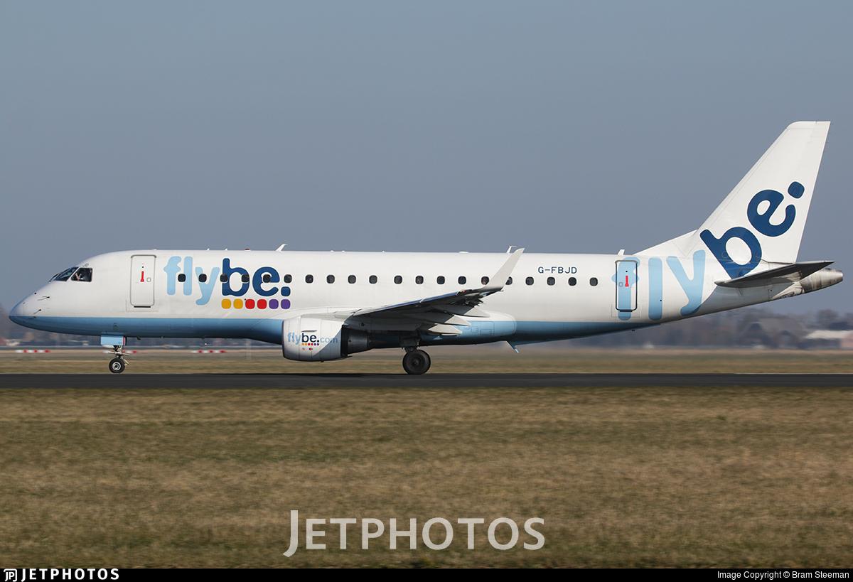 G-FBJD - Embraer 170-200STD - Flybe