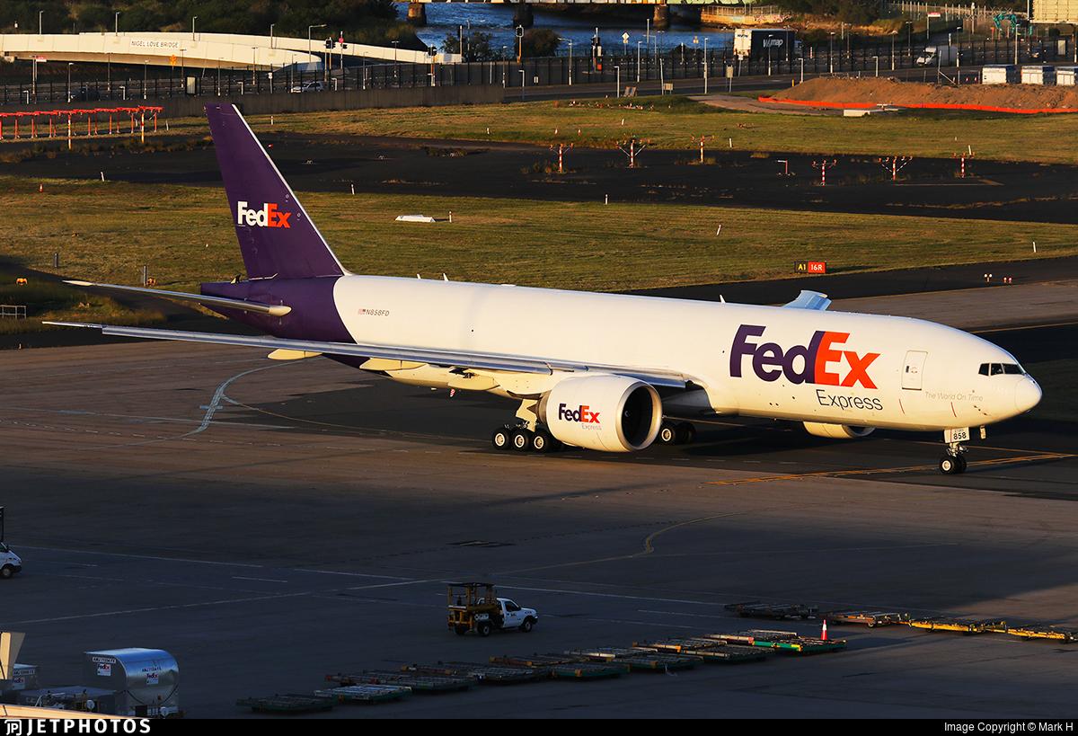 N858FD - Boeing 777-FS2 - FedEx