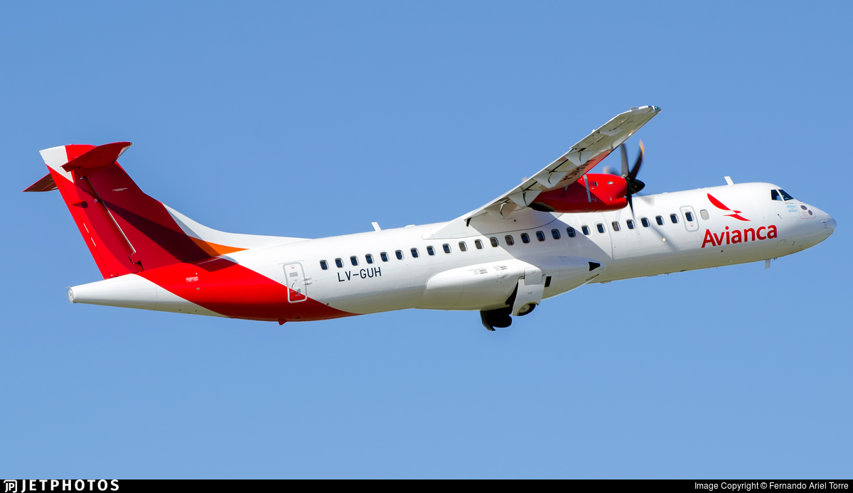 LV-GUH - ATR 72-212A(600) - Avianca Argentina