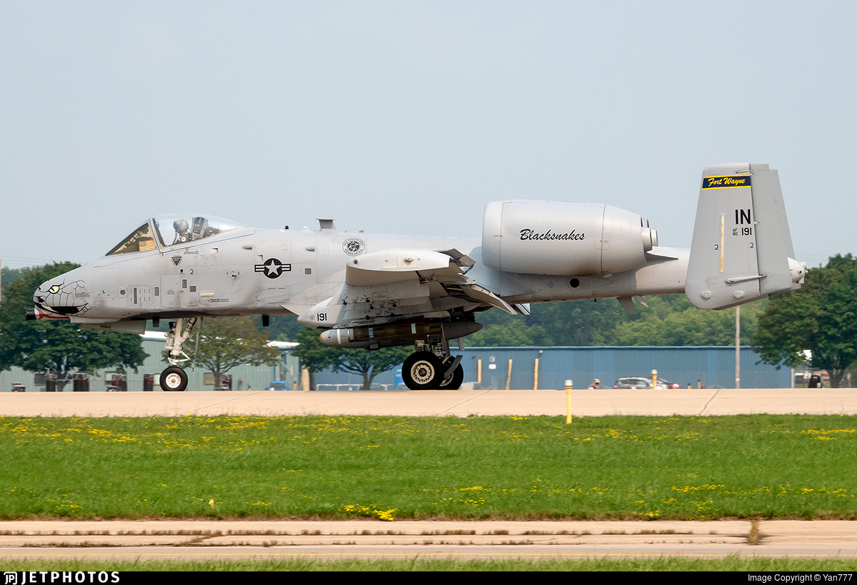 80-0191 - Fairchild A-10C Thunderbolt II - United States - US Air Force (USAF)