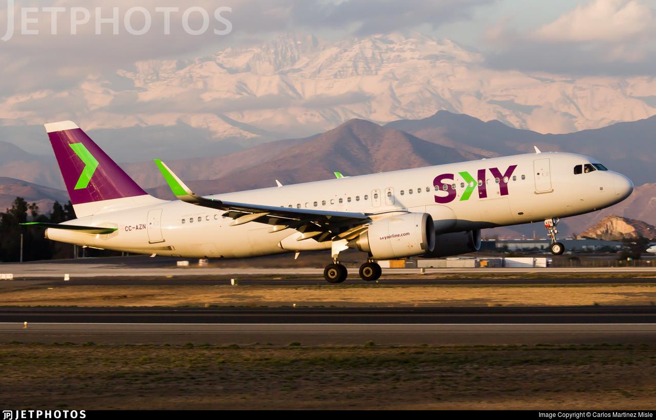 CC-AZN - Airbus A320-251N - Sky Airline