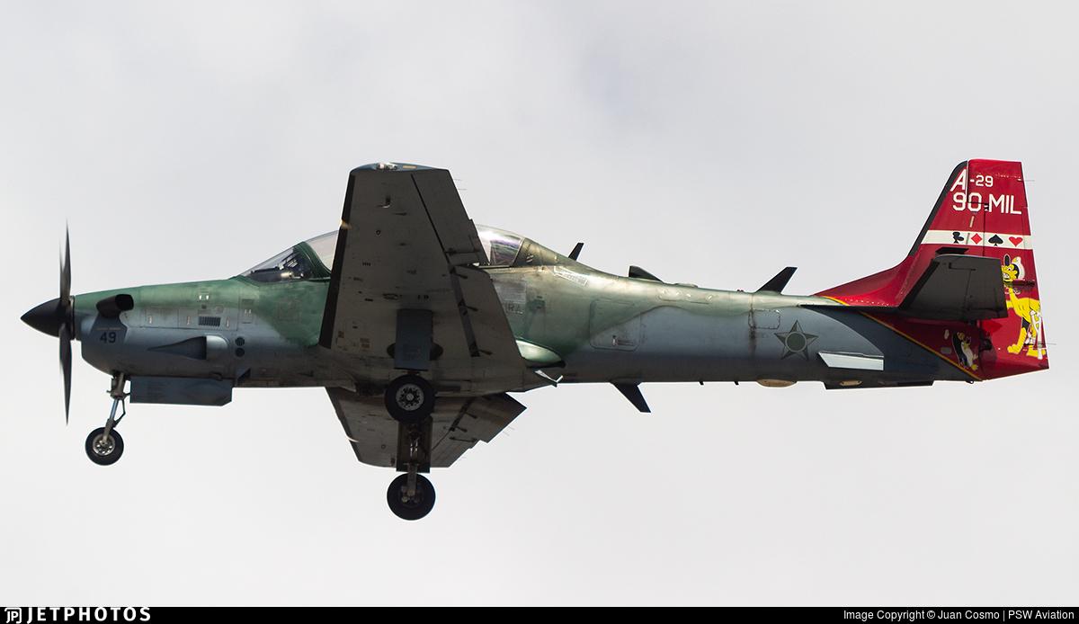 FAB5949 - Embraer A-29B Super Tucano - Brazil - Air Force