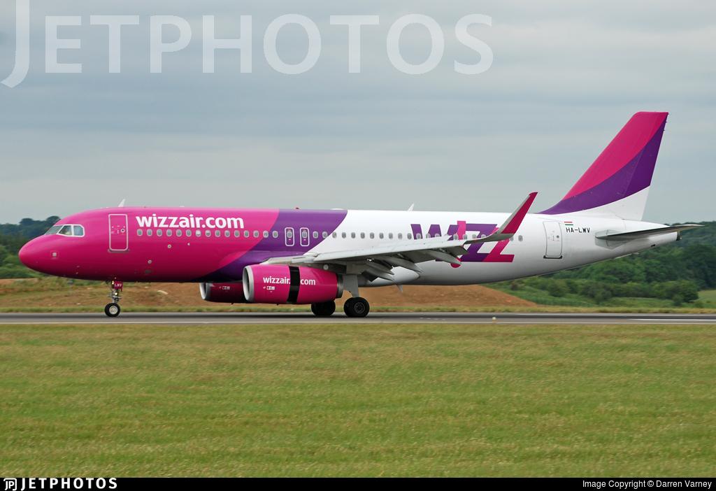 HA-LWV - Airbus A320-232 - Wizz Air