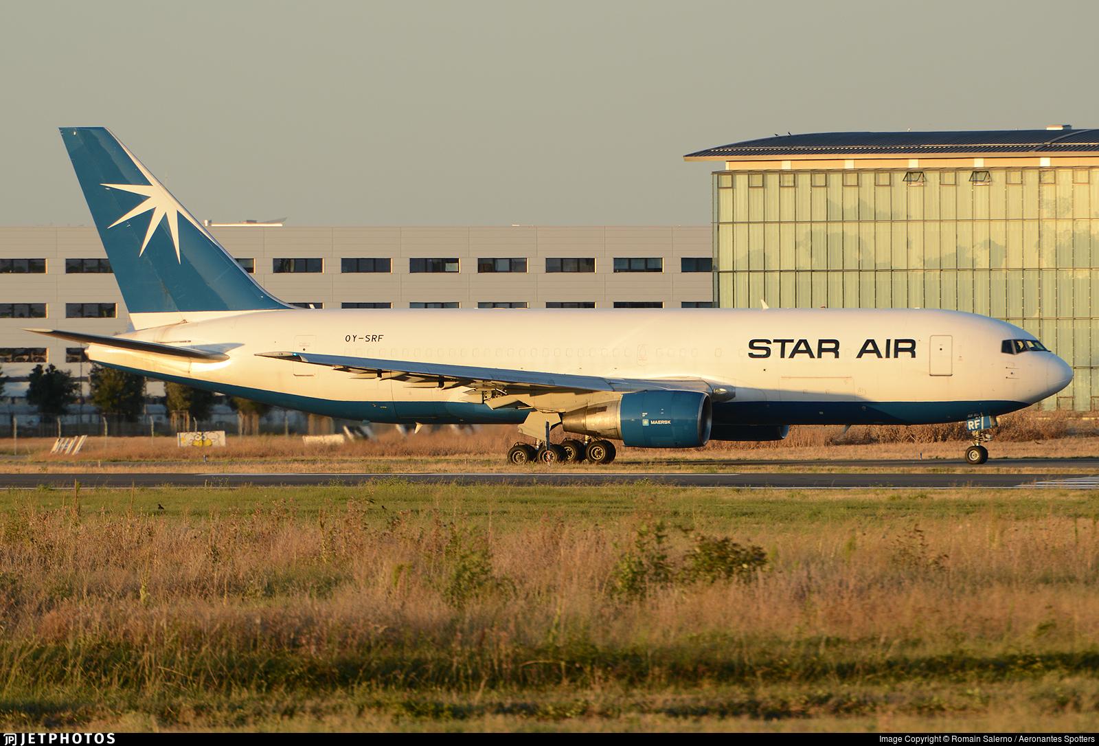 OY-SRF - Boeing 767-219(ER)(BDSF) - Star Air