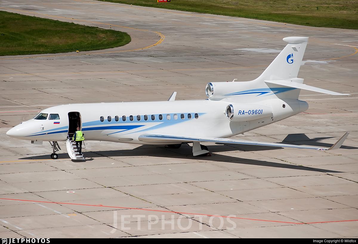 RA-09601 - Dassault Falcon 7X - Gazpromavia