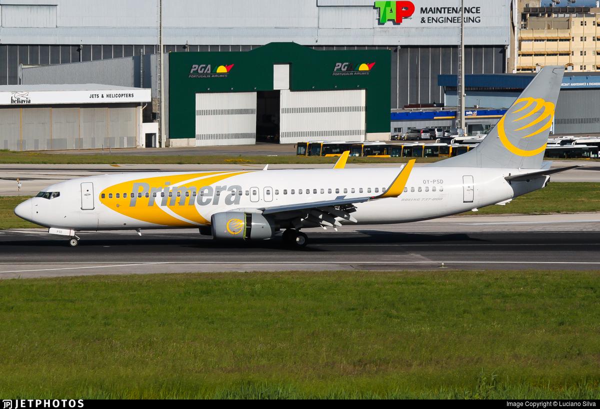 OY-PSD - Boeing 737-86N - Primera Air Scandinavia