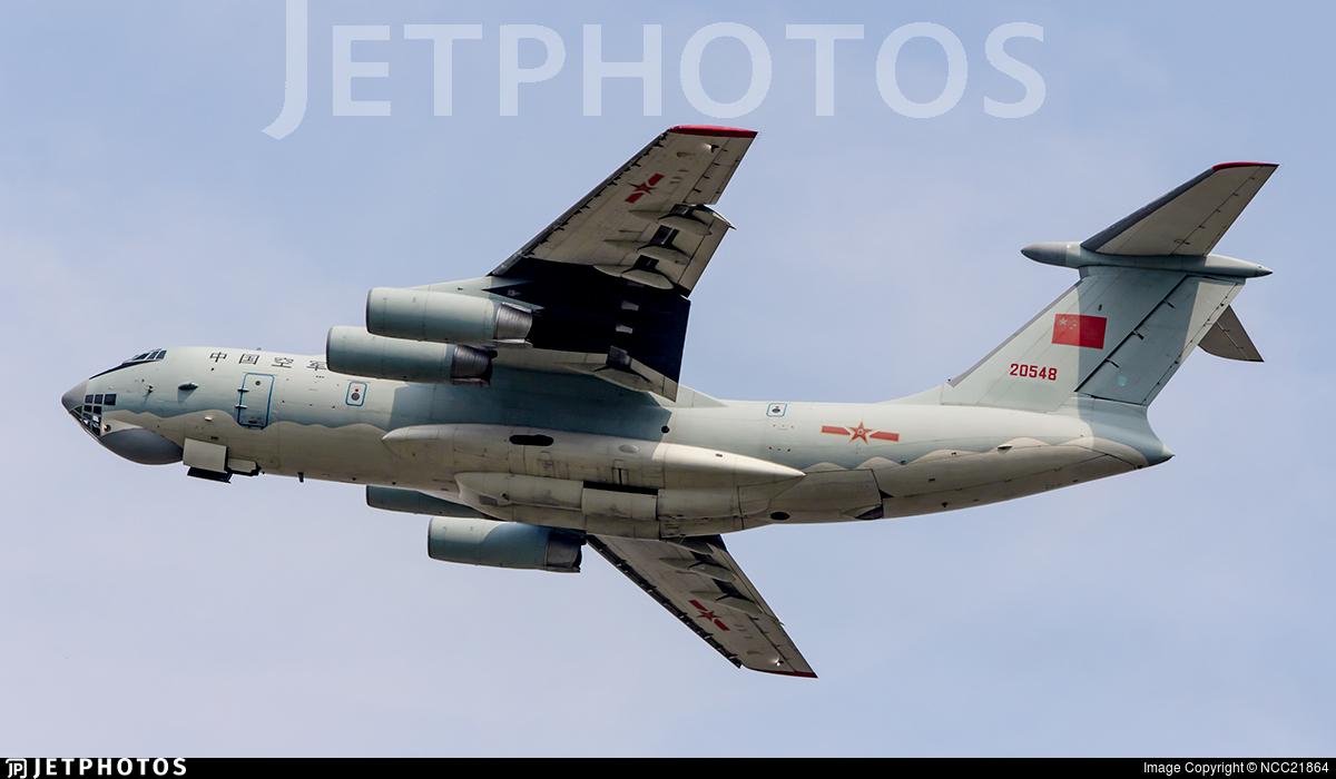 20548 - Ilyushin IL-76TD - China - Air Force