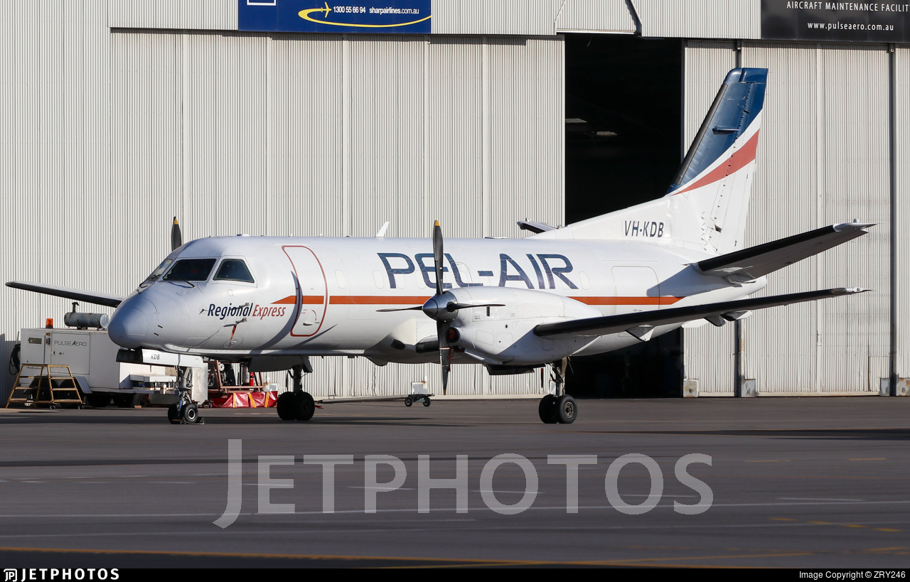 VH-KDB - Saab 340A - Pel-Air Aviation
