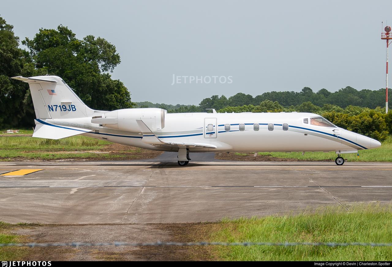 N719JB - Bombardier Learjet 60 - Private