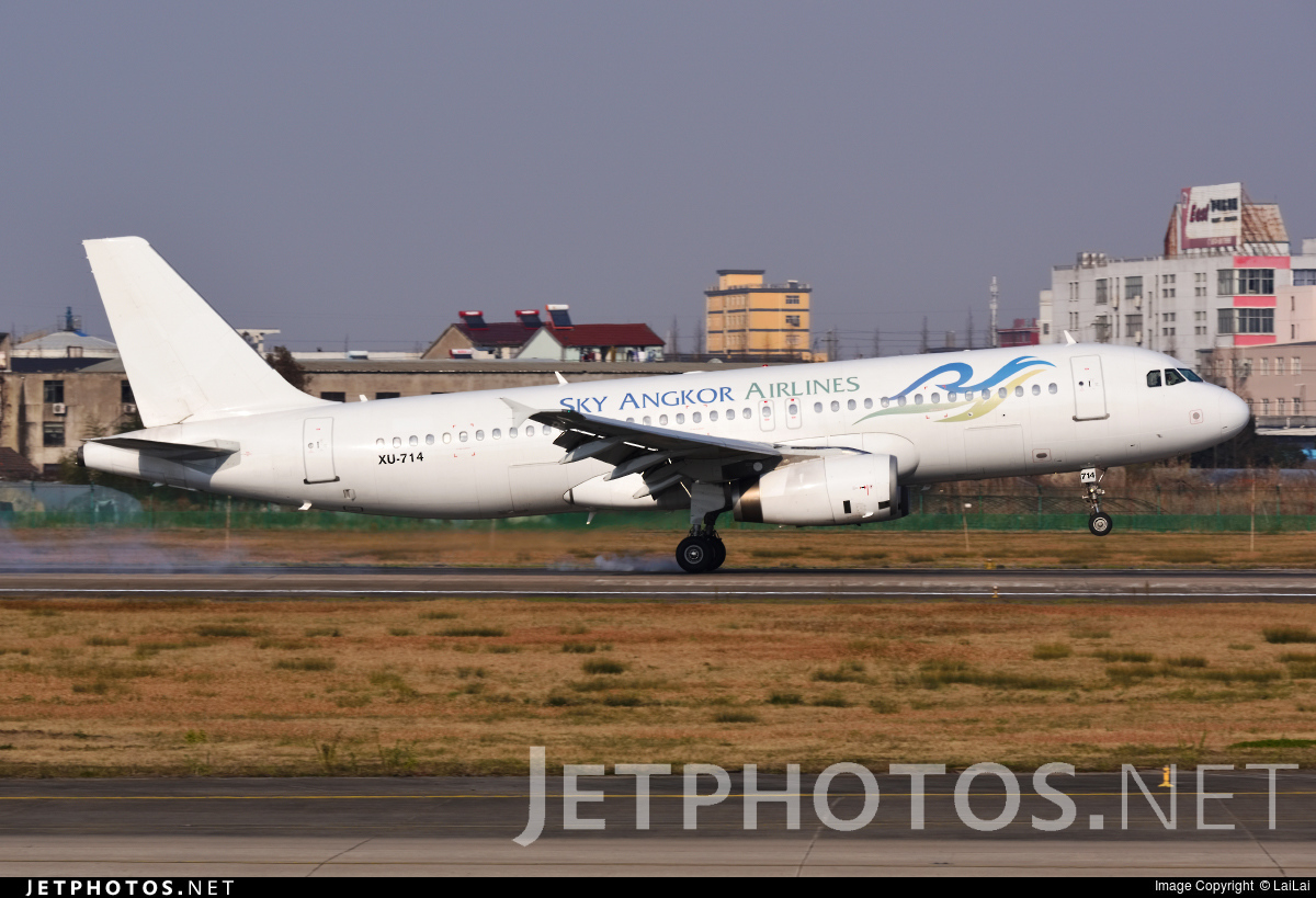 XU-714 - Airbus A320-233 - Sky Angkor Airlines