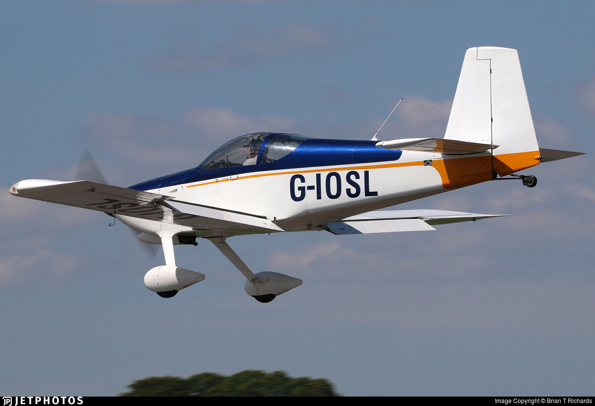 G-IOSL - Vans RV-9 - Private
