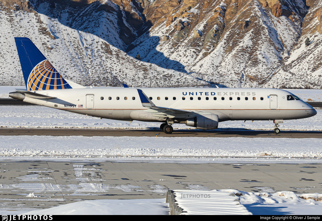 N119SY - Embraer 170-200LR - United Express (SkyWest Airlines)